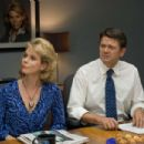 Cheryl Hines and John Michael Higgins in Columbia Pictures' comedy THE UGLY TRUTH. Photo By: Saeed Adyani. © 2009 Columbia Pictures Industries, Inc. All rights reserved. - 454 x 303