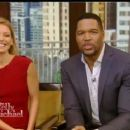 Live with Kelly and Ryan - Michael Strahan
