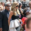 Heidi Klum :  Simon Cowell Honored With Star On The Hollywood Walk Of Fame