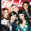 Mollie King, Una Healy, Francesca Sandford, Rochelle Humes, Vanessa White - Fabulous Magazine Cover [United Kingdom] (13 April 2014)