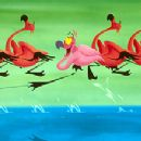 Director Eric Goldberg tells the story of a flamboyant yo-yo-playing flamingo who stands apart from the flock in this wacky watercolor-full interpretation of Camille Saint-Saëns' 'Carnival of the Animals, Finale,' one of seven new segments cre - 350 x 220