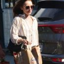 Lily Collins – Shopping at Bristol Farms in Beverly Hills - 454 x 869