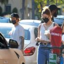 Hailey Bieber and Justin Bieber – Seen at Kreation in Los Angeles