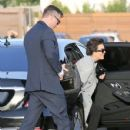 Kris Jenner was seen arriving at Nobu restaurant March 16, 2017.  (March 16, 2017 - 429 x 600