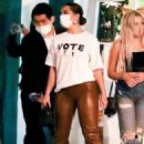 Addison Rae – Leaving the San Vicente Bungalow in West Hollywood