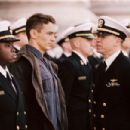 (left to right) Vicellous Reon Shannon as Twins, James Franco as Jake Huard and Donnie Wahlberg as Lt. Cmdr. Burton in Buena Vista Pictures' Annapolis - 2006.