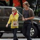 Kate Bosworth and James Rousseau stroll in West Village, NYC 2007-09-13 - 454 x 593