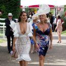 Chloe Goodman – Arrives at Goodwood Racecourse for the Qatar Goodwood Festival - 454 x 606