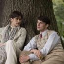 Ben Whishaw as Sebastian Flyte and Matthew Goode as Charles Ryder. Photo credit: Nicola Dove/Courtesy of Miramax Films. - 454 x 302