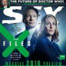 Gillian Anderson - SFX Magazine Cover [United Kingdom] (February 2016)