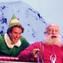 "Will Ferrell (left) as ""Buddy"" and Ed Asner (right) as ""Santa Claus"" in New Line Cinema's upcoming film Elf."