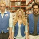 Vince (Dax Shephard), Amy (Jessica Simpson) and Zack (Dane Cook) in EMPLOYEE OF THE MONTH. Photo credit: John Johnson.