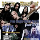Jeremy Spencer, Ivan Moody, Zoltan Bathory, Jason Hook - Vegas Rocks Magazine Cover [United States] (September 2009)