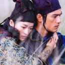 Zhang Ziyi (left) and Takeshi Kaneshiro (right) in Sony Pictures Classics' House of Flying Daggers - 2004 - 454 x 300