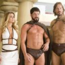 In MEET THE SPARTANS, Carmen Electra, Sean Maguire and Kevin Sorbo and a cast of...dozens...parody the film '300.' Photo credit: Doug Hyun