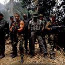 Arnold Schwarzenegger as Dutch Schaeffer in John McTiernan's Predator - 1987
