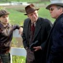 Tobey Maguire, Chris Cooper and Jeff Bridges in Universal's Seabiscuit - 2003