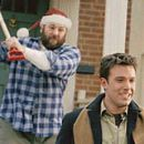 James Gandolfini and Ben Affleck. in DreamWorks' comedy Surviving Christmas.