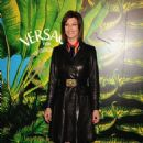 Linda Evangelista attends the Versace for H&M Fashion event on November 8, 2011