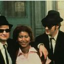 Dan Aykroyd, John Belushi and Aretha Franklin in Universal's The Blues Brothers