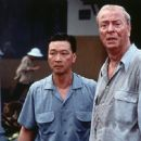 Tzi Ma and Michael Caine in Miramax's The Quiet American - 2002