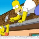 A simple household task turns into mayhem for Homer Simpson and Bart Simpson in THE SIMPSONS MOVIE. Still credit: Matt Groening