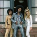 Aunjanue Ellis, Eddie Griffin and Denise Richards in Universal's Undercover Brother - 2002