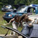 Emmanuelle Chriqui and Eliza Dushku in 20th Century Fox's Wrong Turn - 2003