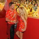 Pamela Anderson - Brahma VIP Party at Carnival Parede in Rio de Janeiro March 6, 2011