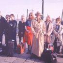 Peter Gantzler, Sara Indrio Jensen, Lars Kaalund, Anette Stovelbaek, Ann Eleonora Jorgensen, Karen-Lise Mynster, Rikki Wolck, Elsebeth Steentoft and Anders W. Berthelsen in Miramax's Italian For Beginners - 2002