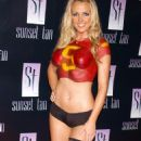 Tiffany Lang - Playboy Magazine October 2005 Cover Release Party - 454 x 862