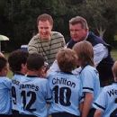 Phil Weston (Will Ferrell) and Mike Ditka coach the Tigers - Kicking and Screaming 2005