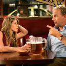 "Jennifer Aniston and Kevin Costner in Warner Bros. Pictures' and Village Roadshow Pictures' romantic comedy ""Rumor Has It,"" distributed by Warner Bros. Pictures. Photo by Melissa Moseley"