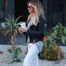 Ashley Tisdale Leaving Nine Zero One Salon On Melrose Place