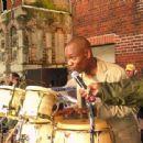 Dave at bongos