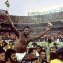 Pelé in ONCE IN A LIFETIME: THE EXTRAORDINARY STORY OF THE NEW YORK COSMOS. Photo Credit: George Tiedmann/Courtesy of Miramax Films.