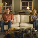 Former lovers, now hostile roommates, bus tour guide Gary (Vince Vaughn) and art dealer Brooke (Jennifer Aniston).