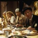 (left to right) Meredith Scott Lynn as Jennifer Stuckman, Cynda Williams as Grace and Jack Klugman as Artur Stuckman in THINKFilms' When Do We Eat