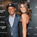 Angela Martini and Russell Simmons - 395 x 594
