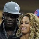 Mario Balotelli and Fanny Neguesha