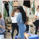 Kylie Jenner Shopping In Los Angeles