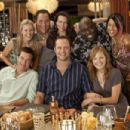 (Clockwise from top left) KRISTEN BELL, JON FAVREAU, KRISTIN DAVIS, FAIZON LOVE, KALI HAWK, MALIN ACKERMAN, VINCE VAUGHN, and JASON BATEMAN in the upcoming comedy Couples Retreat, directed by PETER BILLINGSLEY and written by Jon Favreau. Credit: John John - 454 x 302