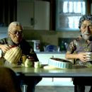 Albert (voice by Barry Otto) and Angel (voice by Geoffrey Rush)in the scene of $9.99. - 454 x 302