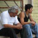 Jaime (Pedro Castaneda) and his son, Victor (Abel Becerra) in August Evening. Credit:  Sarah Balderas.
