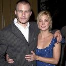 Heath Ledger and Kate Hudson at a premiere for The Four Feathers - 240 x 320