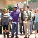Raven, Martin Lawrence, Donny Osmond and Margo Harshman in Walt Disney Pictures' College Road Trip.