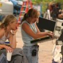 Director Joey Lauren Adams behind the set of Come Early Morning - 2006