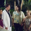 Mila Kunis as Racheal, Jason Segel as Peter, Russell Brand as Aldous and Kristen Bell as Sarah in Universal Pictures' Forgetting Sarah Marshall.