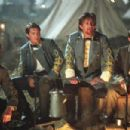 Scott Cooper, Jeremy London, Stephen Spacek and Matthew Staley in Ted Turner Pictures sweeping epic 'Gods and Generals,' starring Jeff Daniels, Stephen Lang and Robert Duvall. Distributed by Warner Bros. Pictures.