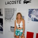 Gigi Hadid At 2014 Coachella Lacoste Beautiful Desert Pool Party